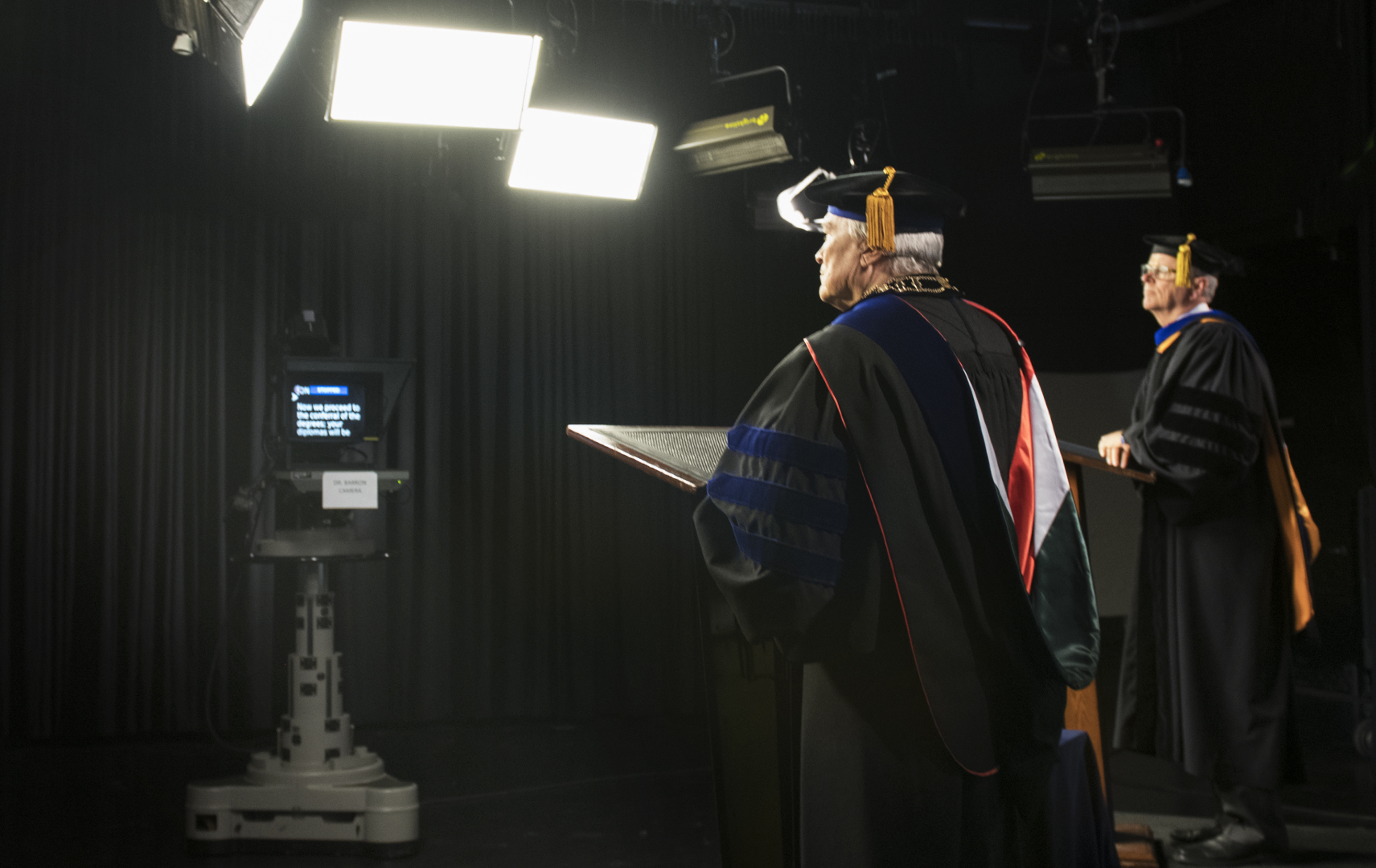 behind the scenes virtual commencement