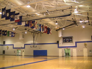 Gymnasium in the Athletics & Recreation Building