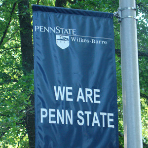 We Are Penn State banner