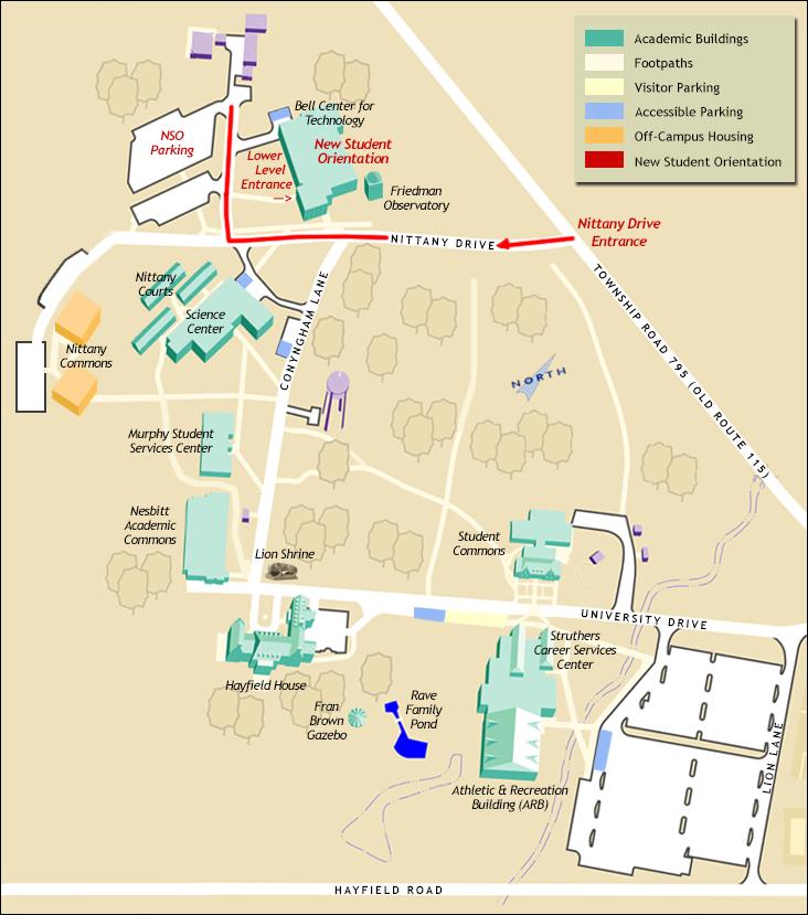 Wilkes Campus Map | autobedrijfmaatje on