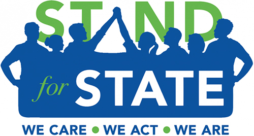 logo for the Penn State Stand For State Green Dot program