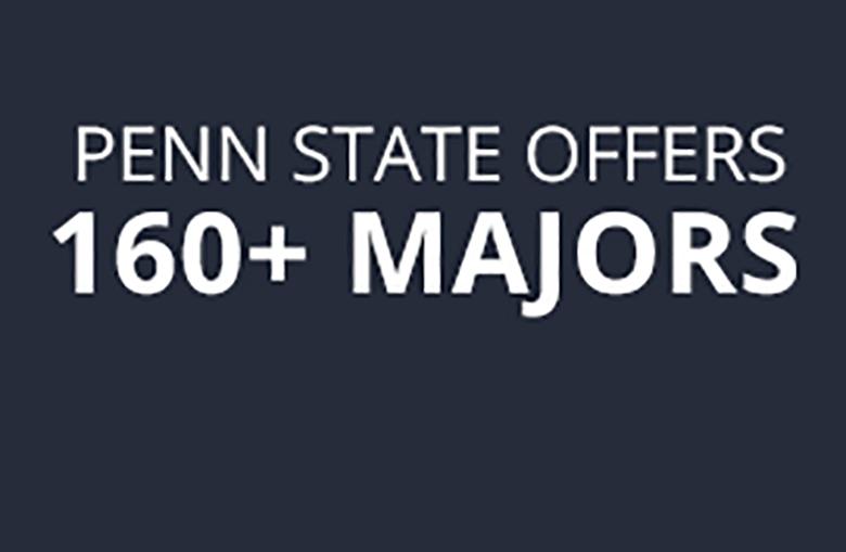 Penn State Offers 160+ Majors