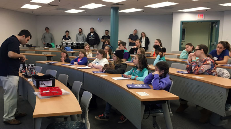 Girl Scouts Robotic Workshop