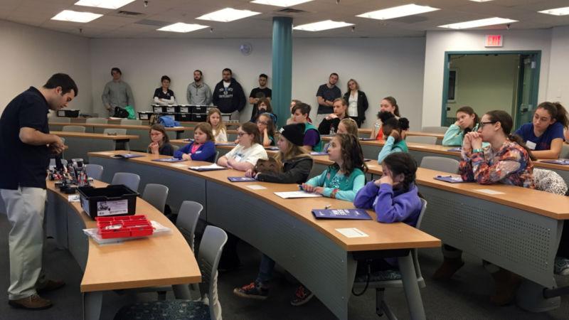 Girl Scouts Robotic Workshop