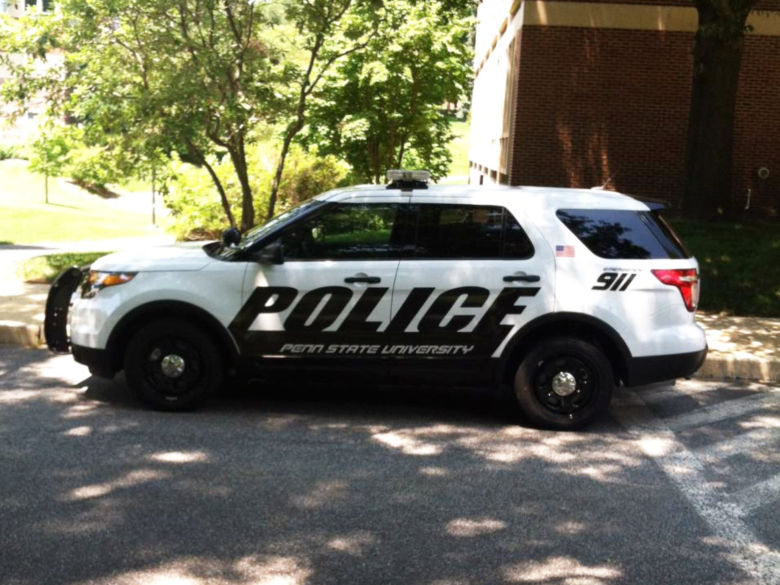 Penn State Wilkes-Barre police vehicle