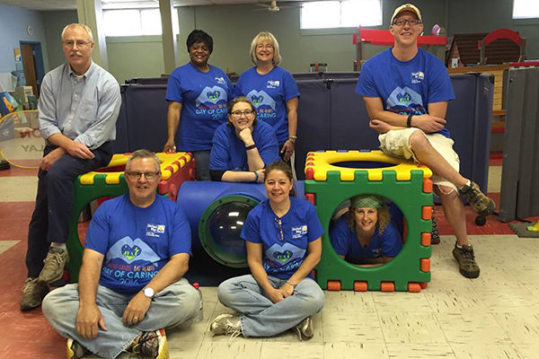 Penn State Wilkes-Barre Team at Wyoming Valley Children's Association 2
