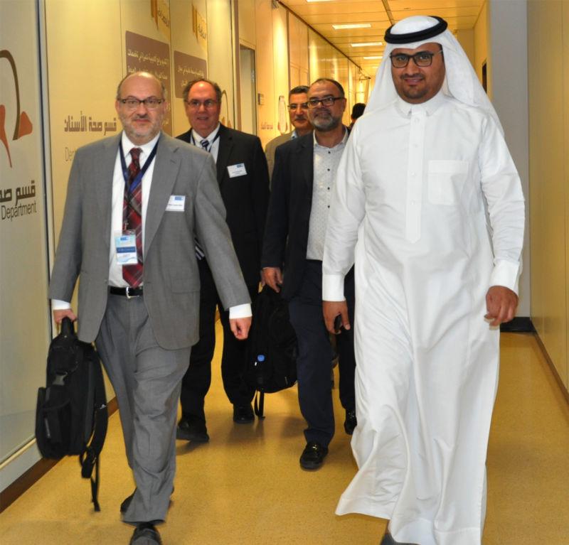 Dr. Lozano Visits Saudi Arabia