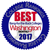 Penn State Wilkes-Barre named one of the 'Best Bang for the Buck Colleges' in 2017 by Washington Monthly