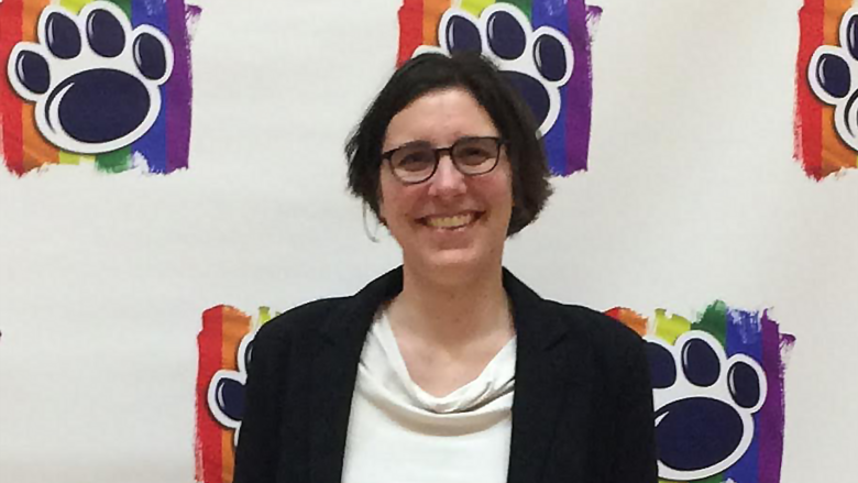 Megan Mac Gregor, LGBTQ Outstanding Service Award recipient