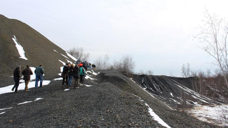 tour of a coal field