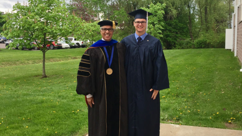 Greg and Chancellor Jones