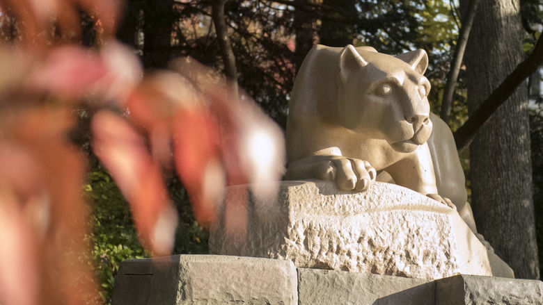 Nittany Lion Shrine autumn