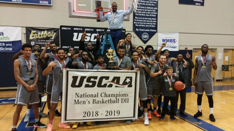 Penn State Wilkes-Barre Men's Basketball Team wins USCAA National Championship