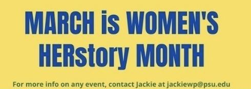 March is Women's HERstory Month